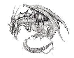576 best dragons black u0026 white images on pinterest dragons