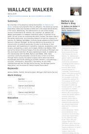 Dentist Resume Sample Help Writing Top Homework Online Resume Metrics Essay No Peace