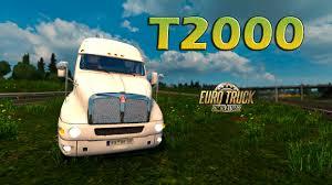 kenworth t200 for sale kenworth t2000 euro truck simulator 2 youtube