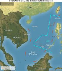South China Sea Map china philippines the latest conflict in the south china sea