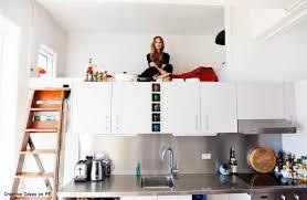 Ideas For A Small Studio Apartment Kitchen Splendid Simple Mezzanine In W Room Ideas For Small