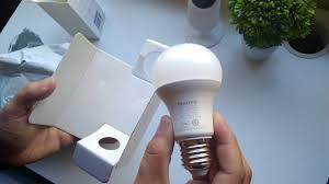 philips smart light bulbs xiaomi philips smart led ball l unboxing youtube