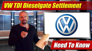 volkswagen dieselgate volkswagen tdi dieselgate settlement what you need to know youtube