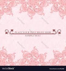 Weeding Invitation Card Wedding Invitation Card Royalty Free Vector Image