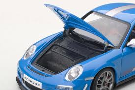 porsche blue gt3 autoart die cast model porsche 91 997 gt3 rs 4 0 blue 78145 die