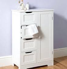 Freestanding Bathroom Storage Units Free Standing Bathroom Storage New White Basket Unit