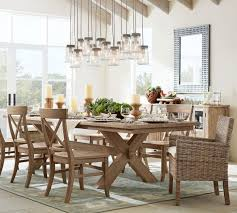 Pottery Barn Toscana Bench by Toscana Extending Dining Table Seadrift Kitchen Ideas