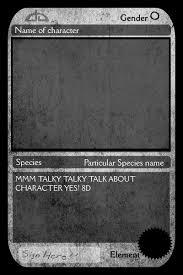 trading card template cyberuse