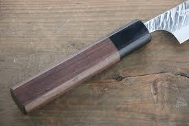 kurosaki fujin vg10 damascas petty japanese chef knife 150mm