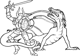 knight coloring pages eldamian net