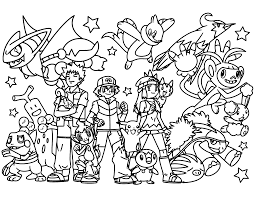 pokemon coloring pages 4 pokemon coloring pages kids coloring