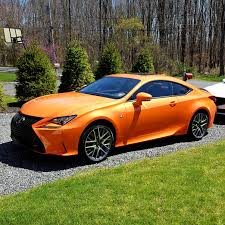 lexus rc awd price lease trade 2015 lexus rc350 f sport awd rare mp orange 498