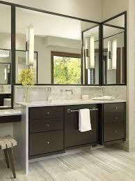 bathroom wall cabinet with towel bar with contemporary bathroom
