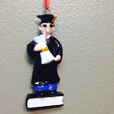 Personalized Graduation Ornaments Ornament Personalized For Boys With Diploma