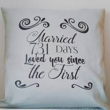 wedding gift personalised personalised gift personalised cushion cotton anniversary