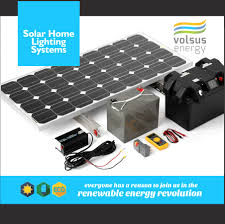 Solar Home Lighting System - products volsus energy