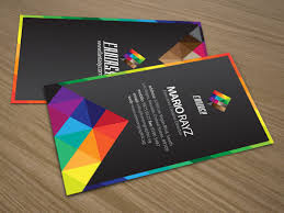 Singapore Business Cards Fantasy Colors Corporate Business Card U2013 Lemon Graphic Singapore