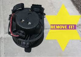 how to remove the heater fan motor assembly renault clio 2 youtube
