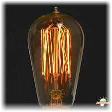 ferrowatt 013651 f1910 24060 antique squirrel cage light bulb 60