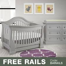 Infant Convertible Cribs by Baby Appleseed 2 Piece Nursery Set Davenport 3 In 1 Convertible