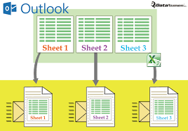 how to batch send all worksheets in one excel workbook as separate