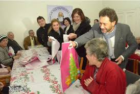 elderly gifts rev haroutune selimian distributes gifts to the elderly of the