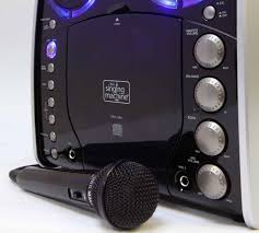 singing machine with disco lights singing machine sml 383 portable cd g karaoke player and 3 cdgs