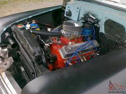 1953 chevy 2 door hardtop good paint interior 350 v8 t700 auto