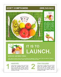 nutrition brochure template diet and nutrition flyer template design id 0000010106