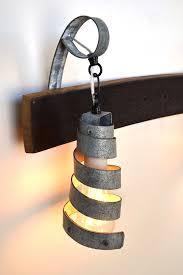 Wine Barrel Vanity Buy A Hand Crafted Corba Elan Barrel Ring Vanity Light Made