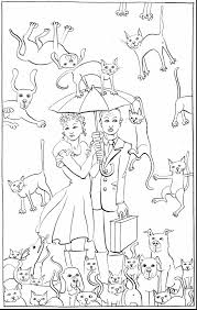 fabulous dog cat coloring pages print dog cat