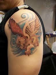 32 unique griffin sleeve tattoos