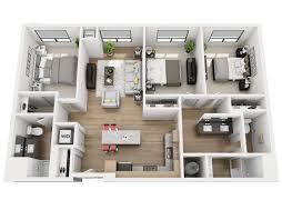 three bedroom apartments floor plans floor plans skyvue apartments