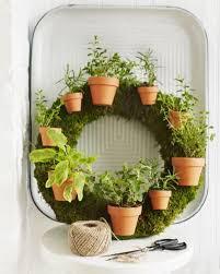 herb wreath herb wreath sweet paul magazine