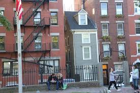 narrowest house in boston paul revere monument picture of free tours by foot boston tours