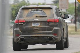 trackhawk jeep cherokee spied jeep grand cherokee trackhawk totally undisguised photo