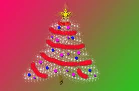 pixie christmas tree background free stock photo public domain