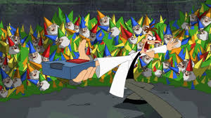 image lawn gnome beach party of terror39 jpg phineas and ferb