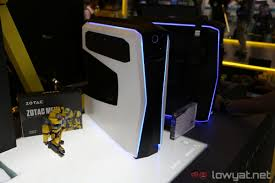 computex 2017 zotac unveils its mek gaming pc comes with gtx