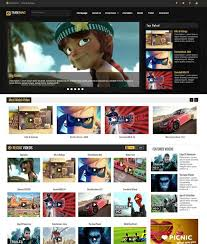 tubemag blogger template free download