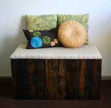 Kitty Litter Bench Tails To Tell Reclaimed Pallet Wood Litter Box Bench