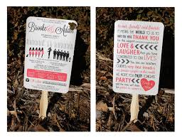 wedding program fan sticks diy wedding ideas silhouette wedding program