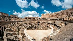 best way to see the colosseum rome painted numbers helped romans find their seats in the