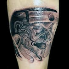 mens ancient mayan god arm tattoo design mestizo pinterest
