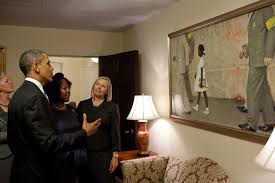Oval Office Decor By President President Obama Meets Civil Rights Icon Ruby Bridges Whitehouse Gov