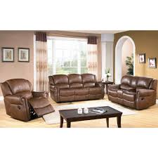 Set Furniture Living Room Living Room Top Grain Leather Living Room Set 00028 Common