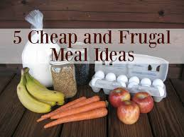 5 cheap and frugal meal ideas youtube
