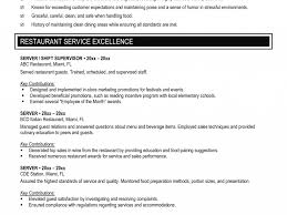 food and beverage resume examples first time job resume examples