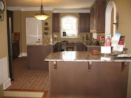 chicago brick flooring with granite counter tops brick tile
