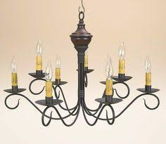Colonial Chandelier Primitive Wood Chandeliers Katies Colonial Lighting Washington